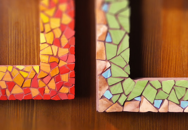 mozaika - ramki na zdjęcia