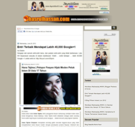 Cara Menjadikan Blog Lebih Dinamik 'Conditional Tags'