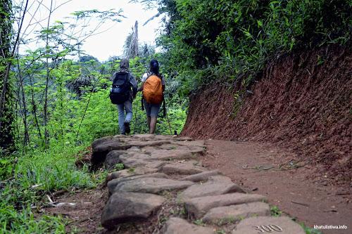 perjalanan menuju Baduy Dalam
