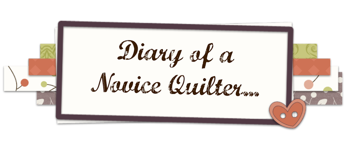 Diary Of A Novice Quilter