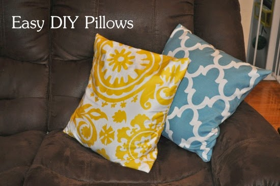 easy diy pillow