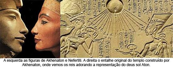 Akhenaton Nefertiti Aton
