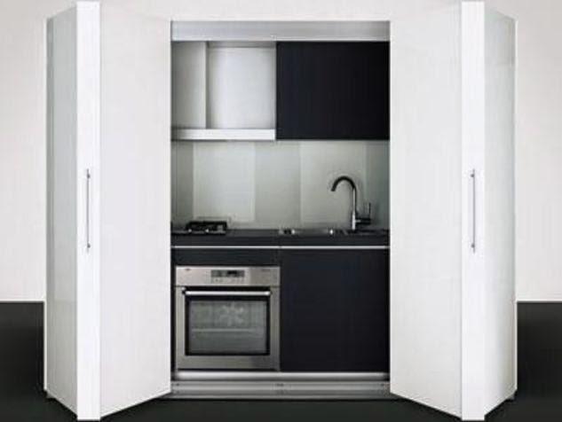 Il blog di architettura e design di studioad una cucina - Mobili a scomparsa per monolocali ...