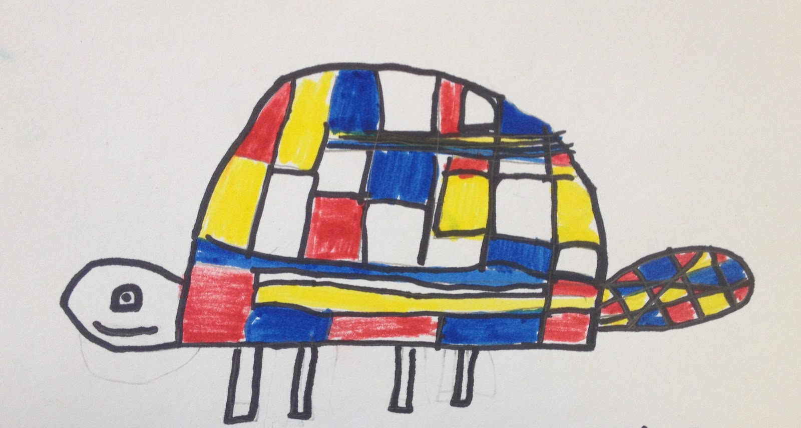 This Mondrian Project Is All Over Blogs And Pinterest Yet I Originally Found It In An Old Arts Activities Pre If You Can Remember Back That