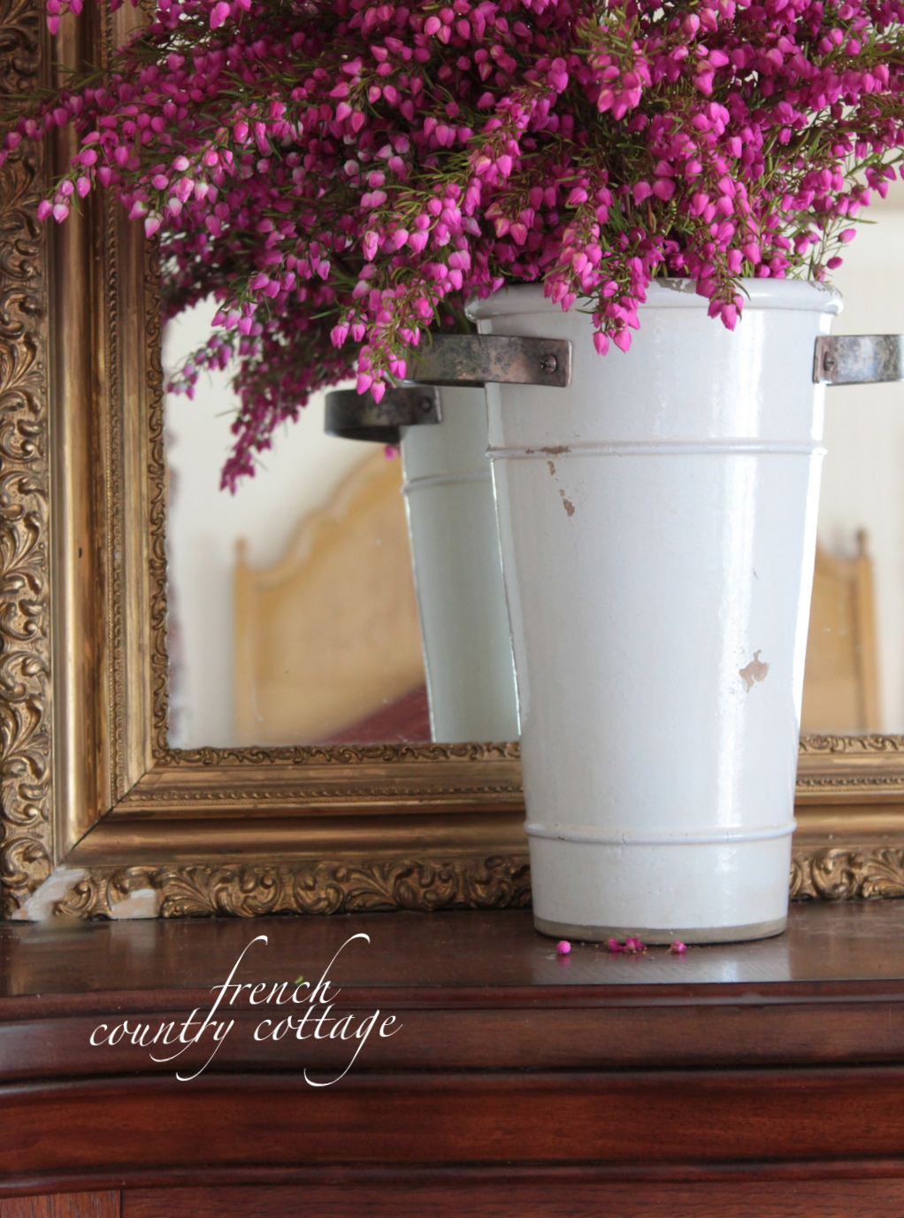 White flower in french images flower decoration ideas white flower bucket french country cottage mightylinksfo mightylinksfo