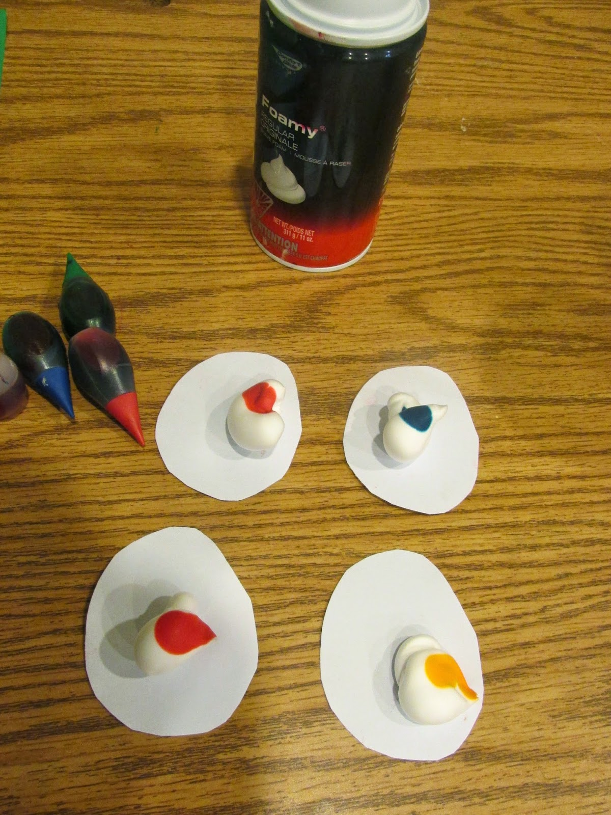 Easter-egg-shaving-cream-craft-preschool