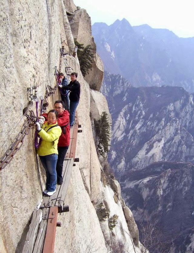 Gunung Huashan, Cina