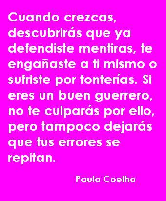 Colección de frases de Paulo Coelho « …*^*Aprendiendo