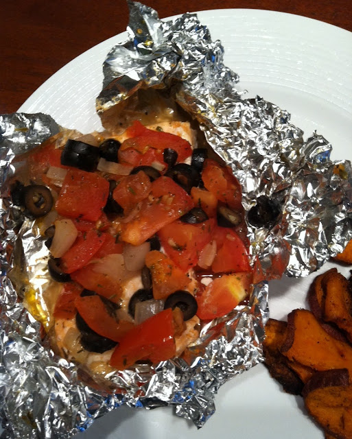 how to bake fish in the oven with foil