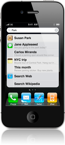 search hero 20100607 iPhone 4: O Guia Completo (Parte 17   Busca)