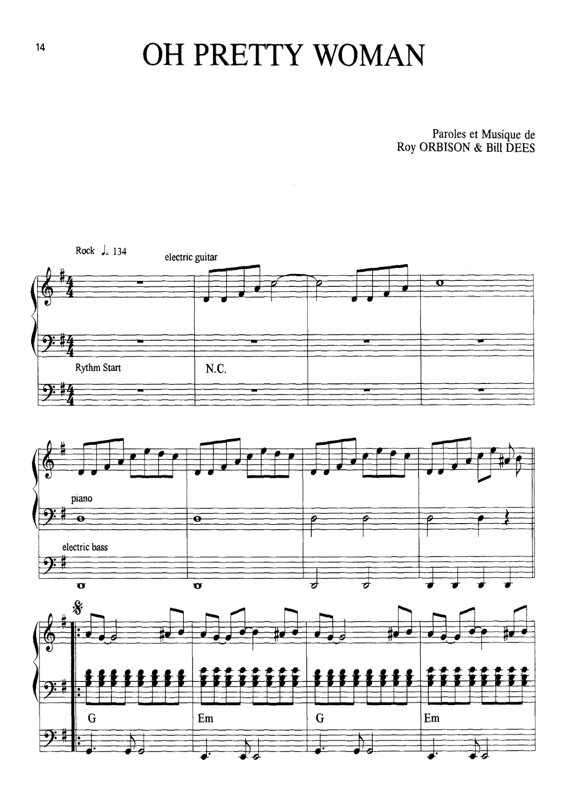 kind of woman pippin sheet music pdf