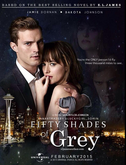 Fifty Shades of Grey 2015 HC HDRip 720p 850mb