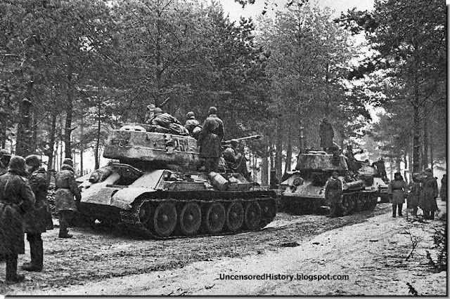 January 13, 1945 Red Army poised cross into east Prussia