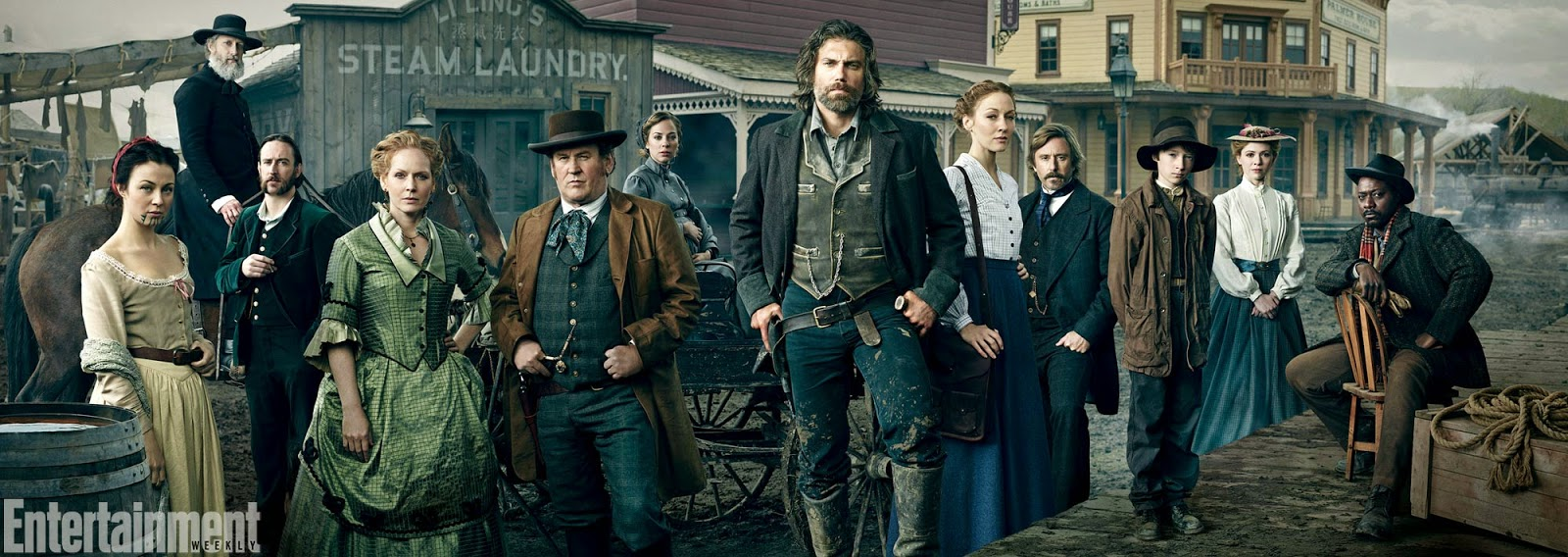 Hell on Wheels - Season 4 - First Official Cast Photo