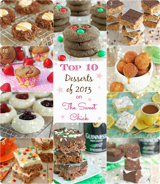Top 10 Desserts of 2013 on The Sweet Chick