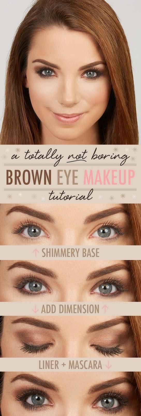 Younique By Kristen Morton Brown Eye Makeup Tutorial