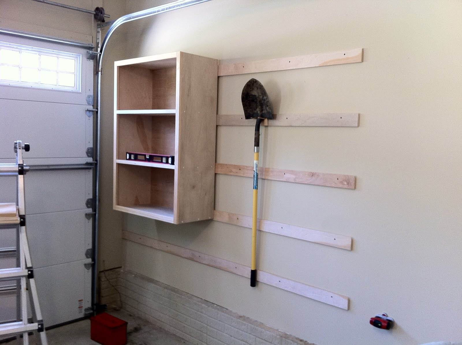 Chad's Workshop: French cleat garage storage