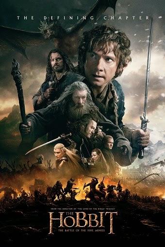 The Hobbit: The Battle of the Five Armies [WEBRip 720p] [Dual Latino-Inglés] [2014] [MEGA]