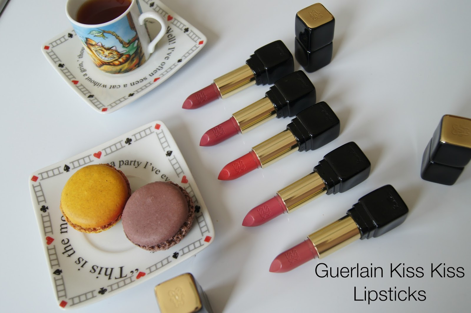 Guerlain Kiss Kiss lipstick review,