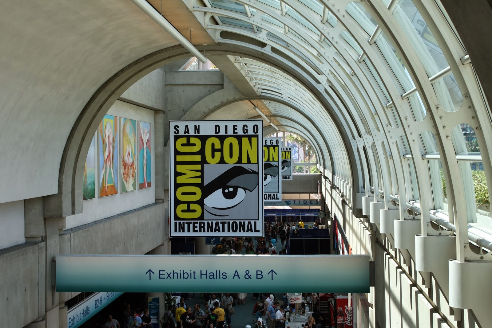 Comic-con San Diego Convention Center