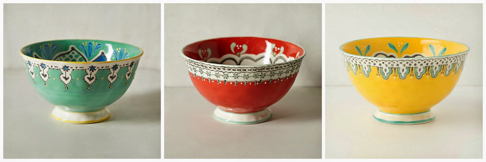 colourful bowl anthropologie