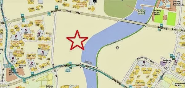 Rivertrees Residences Location Map