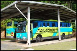 KMNS Residential College Bus Transport (Asrama Bas)