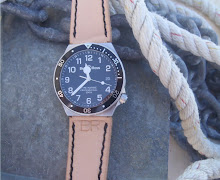 James' BR Pro Diver on Natural Leather