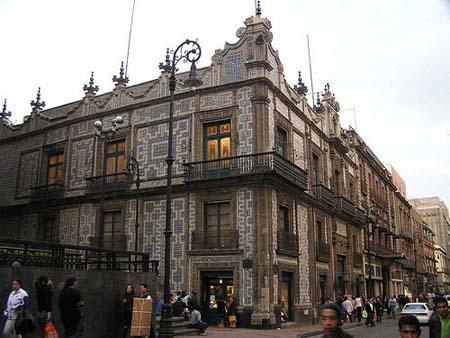 Mexico En El Tiempo Palacios Y Casa Se Oriales De Mexico