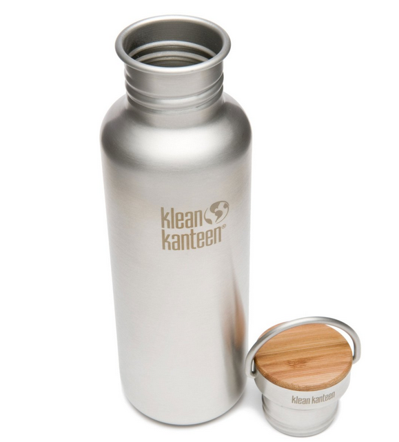 Klean Kanteen 27 oz. - Stainless Steel Water Bottle, bpa free