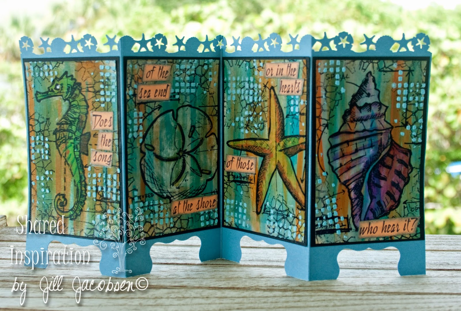 Shared inspiration by jill jacobsen nautical blueprint mixed media the sentiment was stamped and cut apart and glued down it didnt turn out as bright as i wanted but its okayi want to make more of these cardsa malvernweather Images