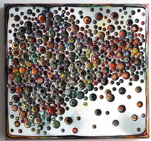 Metallic Epoxy coating Marble design over wood sub-floor Tutorial