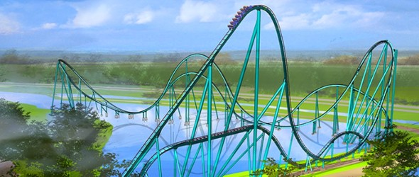 Mako : Une montagne russe féroce arrive à SeaWorld Orlando !