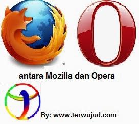 Opera dan Mozilla Browser