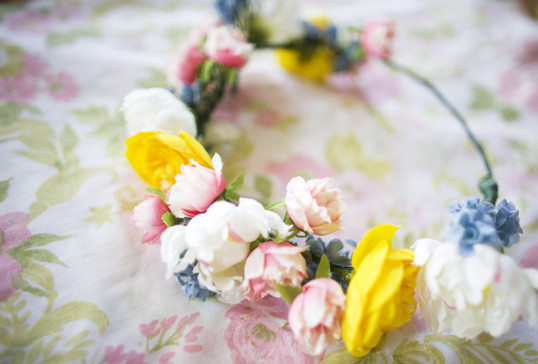 beautiful Flower Crown handmade for wedding 2016