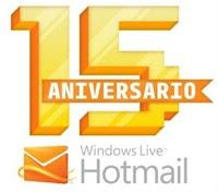 15 años con correos electrónicos de Hotmail