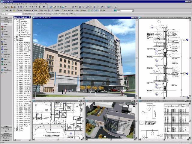 Autodesk revit architecture characteristics for Revit architecture house design