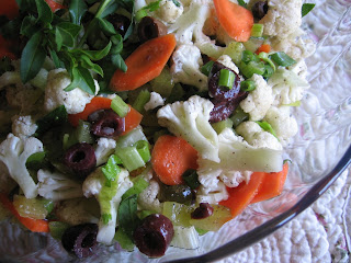 Tarragon Cauliflower Salad