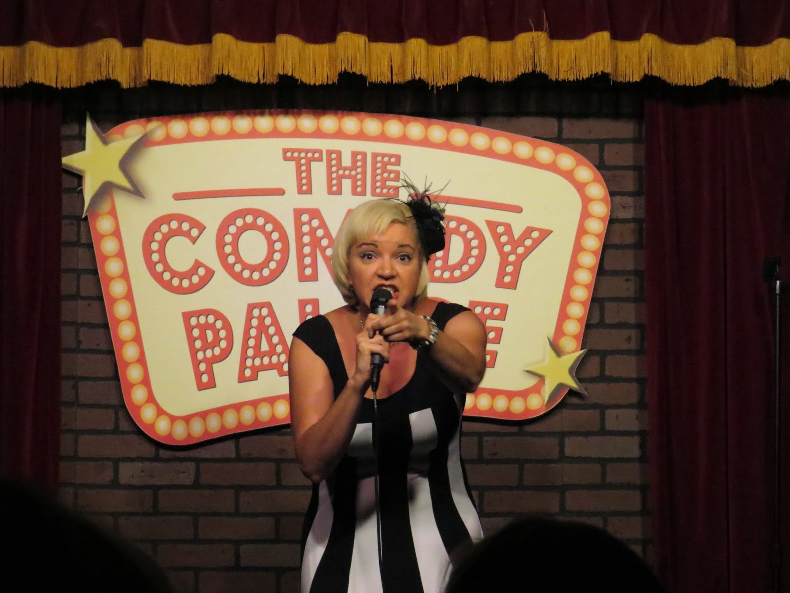 denise vasquez busting out standing up her comedy the comedy palace san diego saturday july 26th 2014