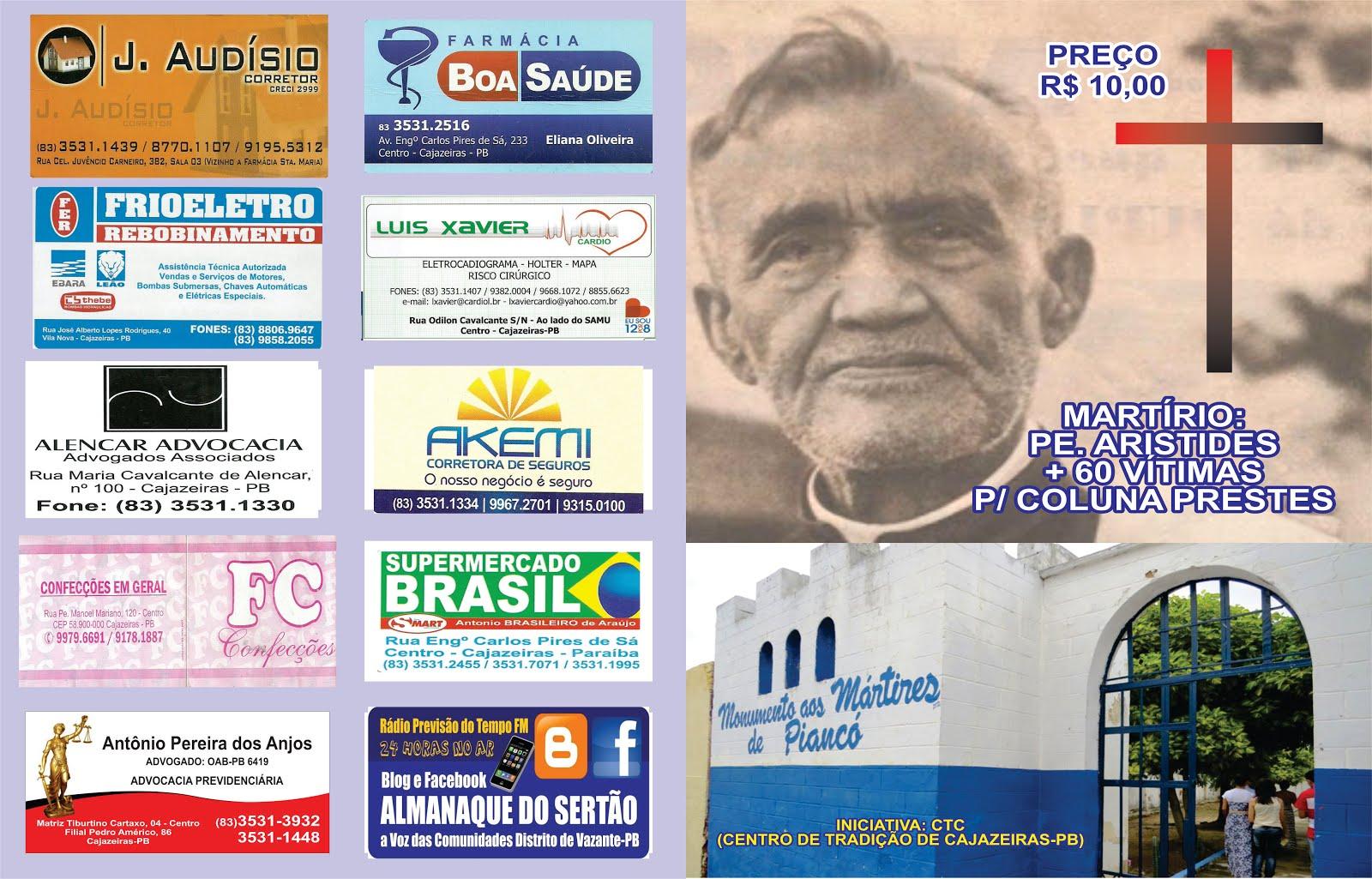 FOLHETO A SER LANÇADO EM PIANCDO NA FESTA DE SANTO ANTONIO