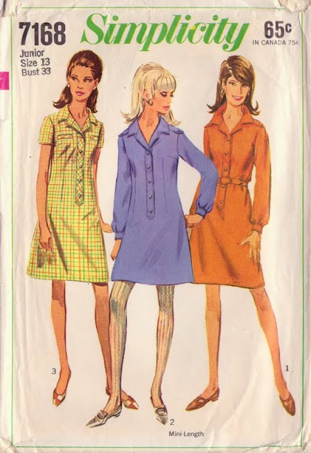 Shirt Dress, Shirt Dress Pattern, Vintage Patterns