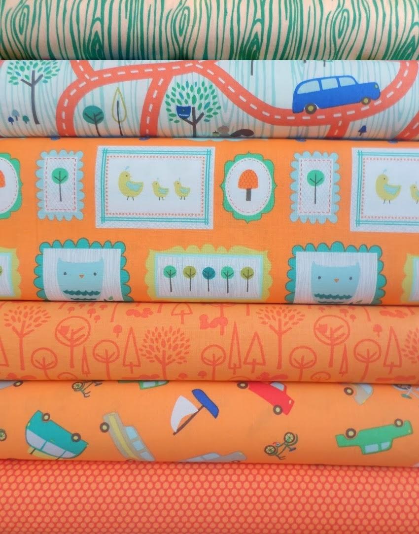 Scenic Route Fabric