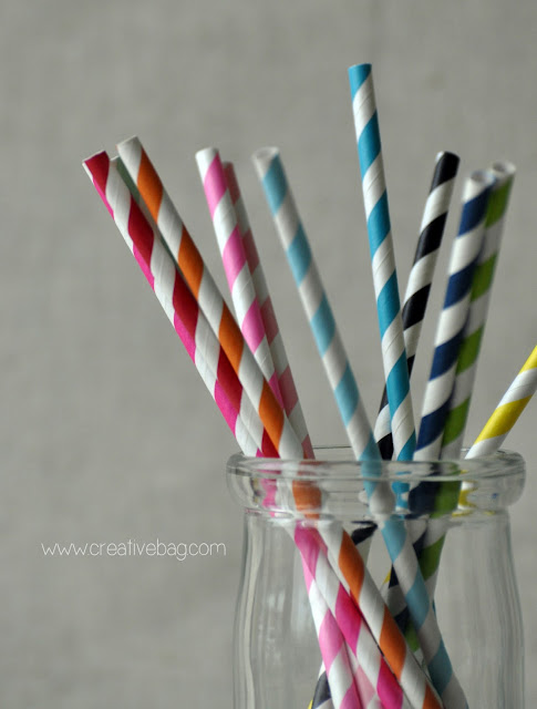 paper straws from Creative Bag