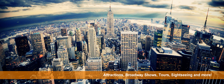 New York Attractions, broadway shows, tours, sightseeing and more