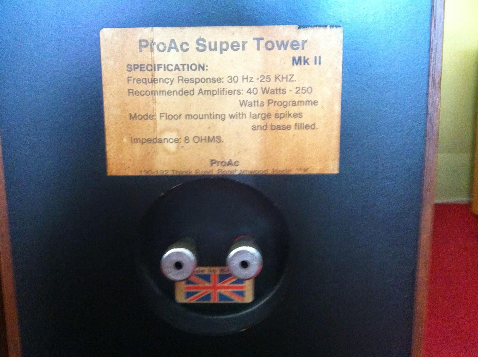Cầu loa ProAC Super Tower Mk II