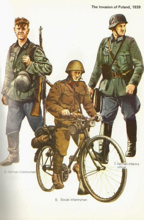 Early War German Infantry Uniforms Pictures 1
