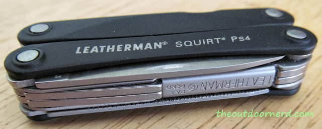 Leatherman Squirt PS4 Multi-Tool: Side View