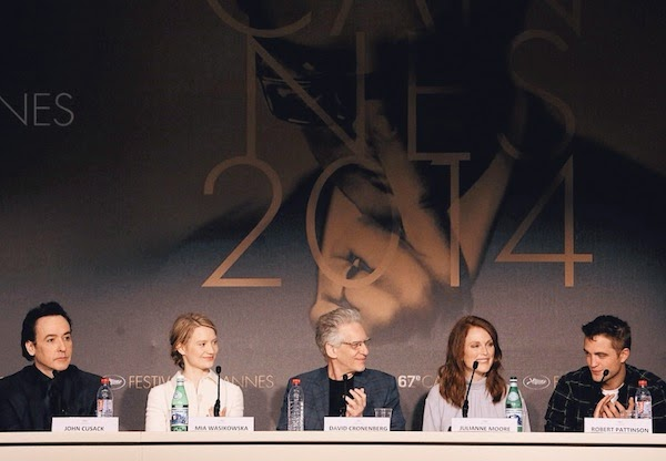 David Cronenberg's Montblanc Nicolas Rieussec timepiece - 'Maps To The Stars' Press Conference, The 67th Annual Cannes Film Festival #Cannes2014