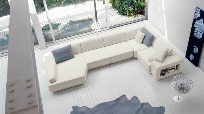 Stunning Soggiorni Moderni Bianchi Pictures - Idee per la casa ...