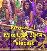 Review of Miss USA 2014 Telecast